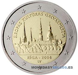 Letonia-2€-2014