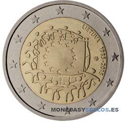 Lituania-2-€-2015-Bandera