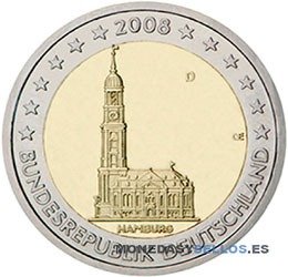Moneda-2-€-Alemania-2008