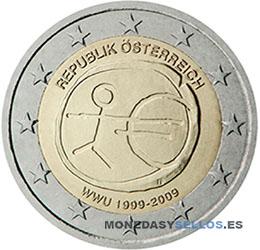Moneda-2-€-Austria-2009EMU