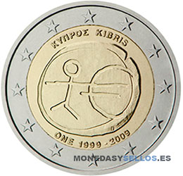 Moneda-2-€-Chipre-2009EMU