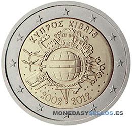 Moneda-2-€-Chipre-2012-X