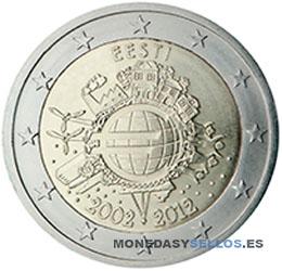 Moneda-2-€-Estonia-2012-X