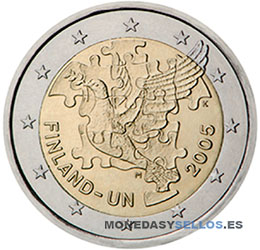 Moneda-2-€-Finlandia-2005