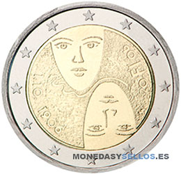 Moneda-2-€-Finlandia-2006