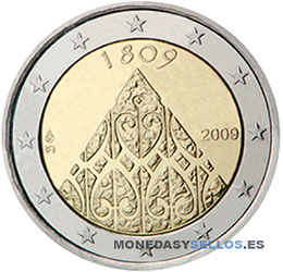 Moneda-2-€-Finlandia-2009