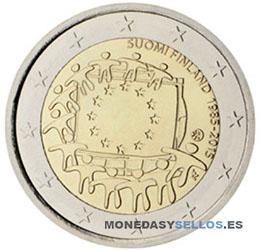 Moneda-2-€-Finlandia-2015-Bandera