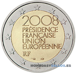 Moneda-2-€-Francia-2008
