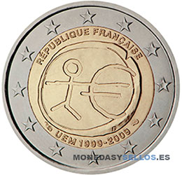 Moneda-2-€-Francia-2009EMU