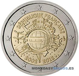 Moneda-2-€-Francia-2012X
