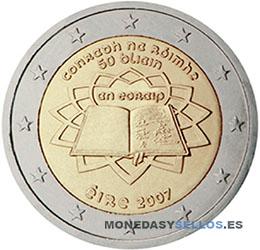 Moneda-2-€-Irlanda-2007-Tratado