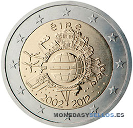 Moneda-2-€-Irlanda-2012-X