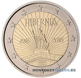 Moneda-2-€-Irlanda-2016
