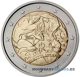 Moneda-2-€-Italia-2008
