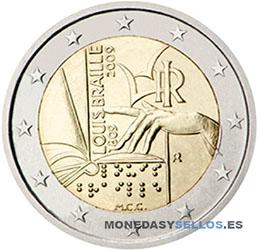 Moneda-2-€-Italia-2009