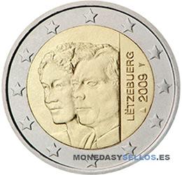 Moneda-2-€-Luxemburgo-2009