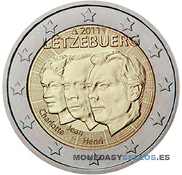 Moneda-2-€-Luxemburgo-2011
