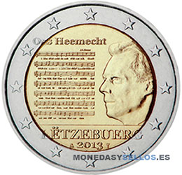 Moneda-2-€-Luxemburgo-2013