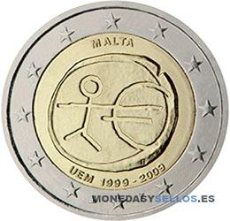 Moneda-2-€-Malta-2009EMU