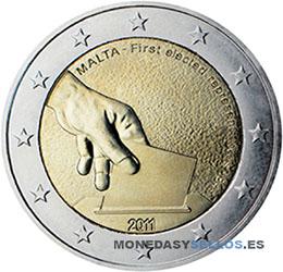 Moneda-2-€-Malta-2011