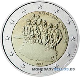 Moneda-2-€-Malta-2013