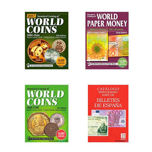 Catálogos de monedas y billetes