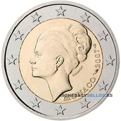 Moneda 2 € Monaco 2007