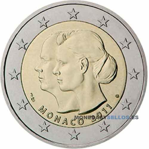 Moneda 2 € Monaco 2011