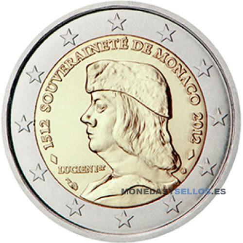 Moneda 2 € Monaco 2012