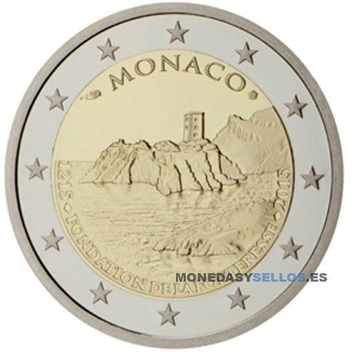 Moneda 2 € Monaco 2015