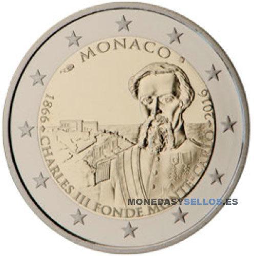 Moneda 2 € Monaco 2016