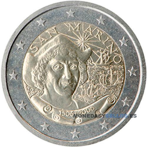 Moneda 2 € San Marino 2006