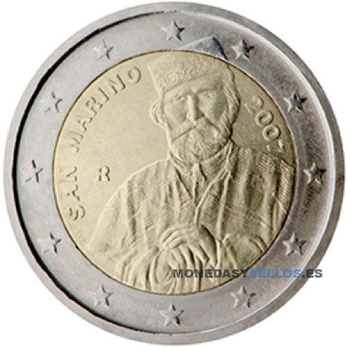 Moneda 2 € San Marino 2007