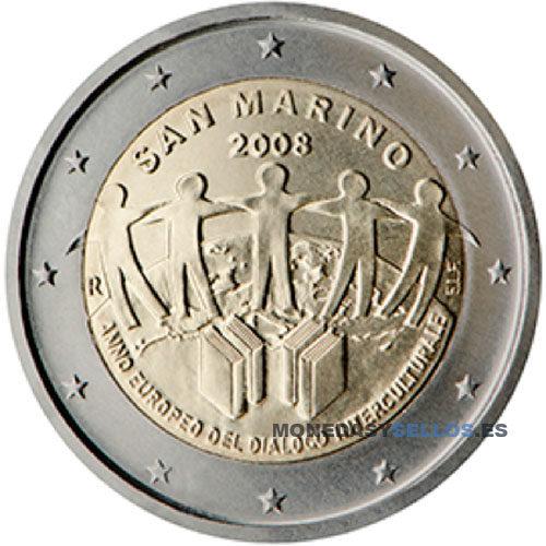 Moneda 2 € San Marino 2008