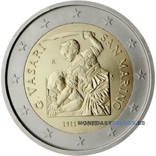 Moneda 2 € San Marino 2011