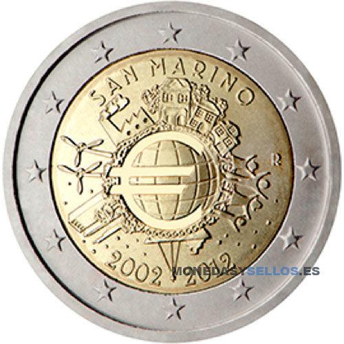 Moneda 2 € San Marino 2012 X