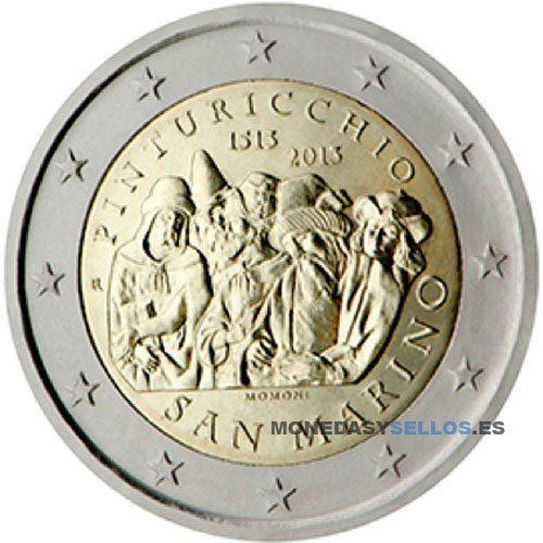 Moneda 2 € San Marino 2013