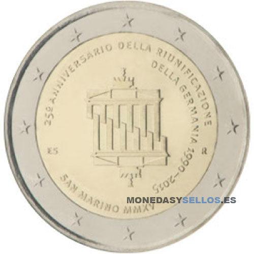 Moneda 2 € San Marino 2015 II
