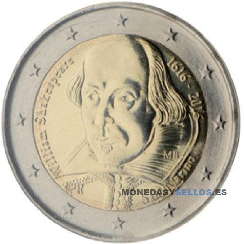 Moneda 2 € San Marino 2016 II