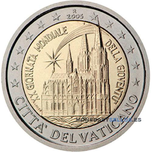 Moneda 2 € Vaticano 2005