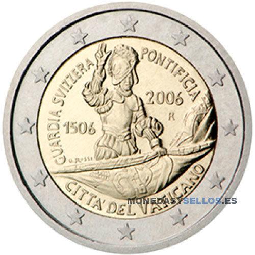 Moneda 2 € Vaticano 2006