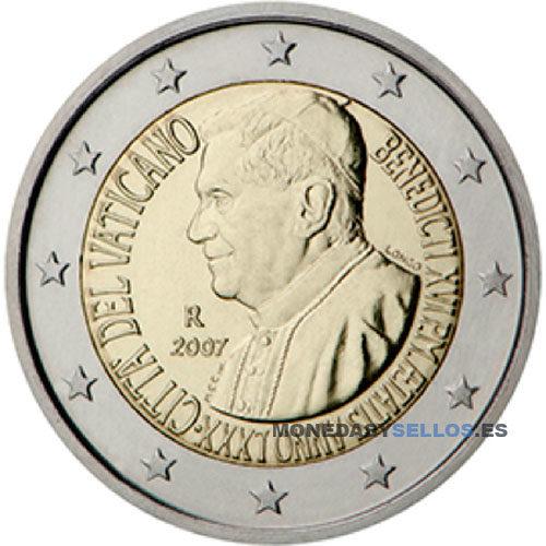Moneda 2 € Vaticano 2007