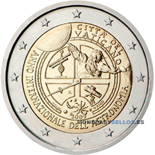 Moneda 2 € Vaticano 2009