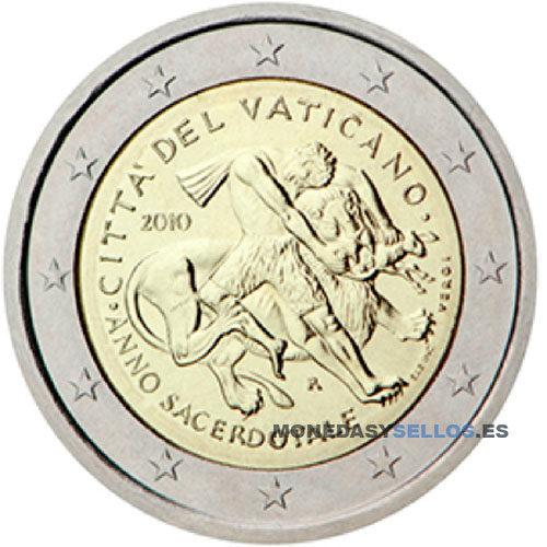 Moneda 2 € Vaticano 2010