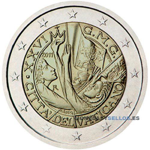 Moneda 2 € Vaticano 2011