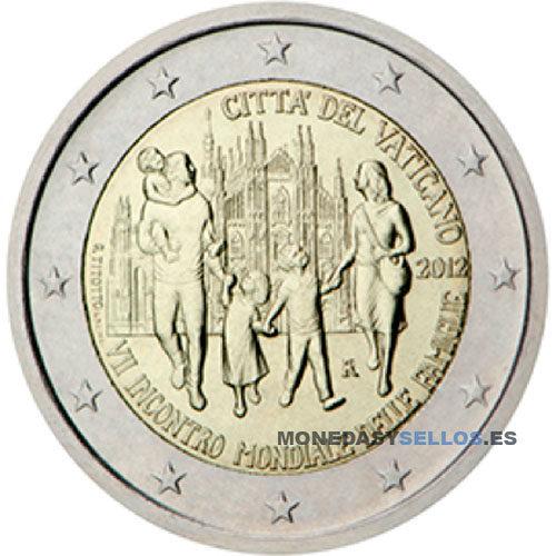 Moneda 2 € Vaticano 2012