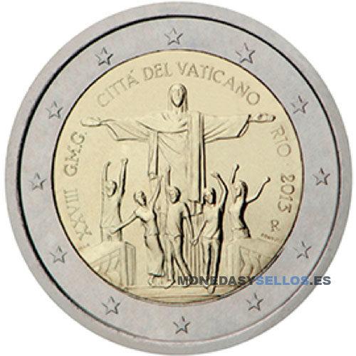 Moneda 2 € Vaticano 2013 II