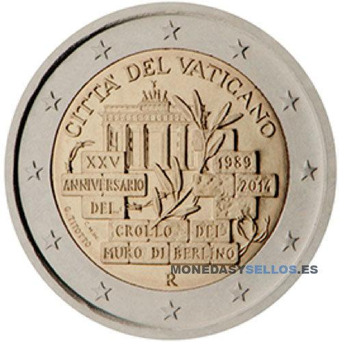 Moneda 2 € Vaticano 2014