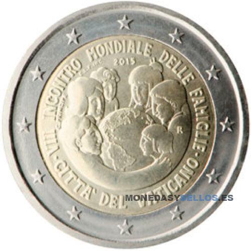 Moneda 2 € Vaticano 2015