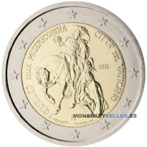 Moneda 2 € Vaticano 2016 II